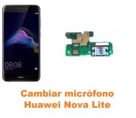 Cambiar micrófono Huawei Nova Lite
