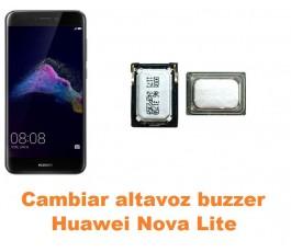 Cambiar altavoz buzzer Huawei Nova Lite