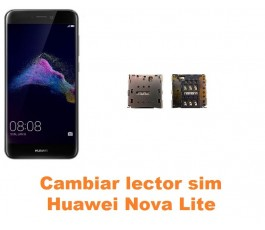Cambiar lector sim Huawei Nova Lite