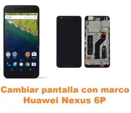 Cambiar pantalla completa con marco Huawei Nexus 6P