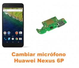 Cambiar micrófono Huawei Nexus 6P