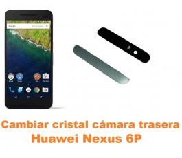 Cambiar cristal cámara trasera Huawei Nexus 6P