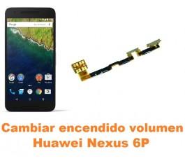 Cambiar encendido y volumen Huawei Nexus 6P