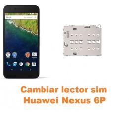 Cambiar lector sim Huawei Nexus 6P