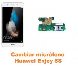 Cambiar micrófono Huawei Enjoy 5S