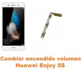 Cambiar encendido y volumen Huawei Enjoy 5S