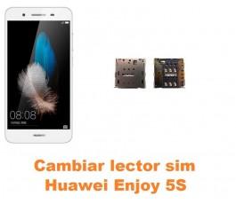 Cambiar lector sim Huawei Enjoy 5S