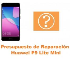 Presupuesto de reparación Huawei P9 Lite Mini