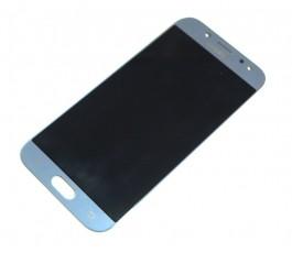 Pantalla completa táctil y lcd para Samsung J5 2017 J530 gris azul reparada