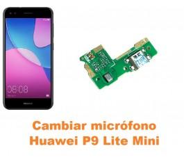 Cambiar micrófono Huawei P9 Lite Mini