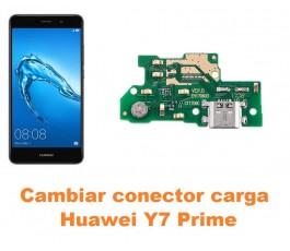 Cambiar conector carga Huawei Y7 Prime