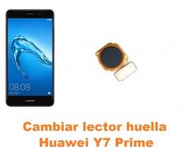 Cambiar lector huella Huawei Y7 Prime