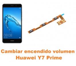 Cambiar encendido y volumen Huawei Y7 Prime