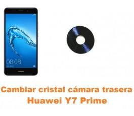 Cambiar cristal cámara trasera Huawei Y7 Prime