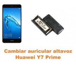 Cambiar auricular altavoz Huawei Y7 Prime