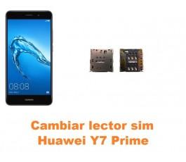 Cambiar lector sim Huawei Y7 Prime