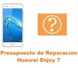 Presupuesto de reparación Huawei Enjoy 7