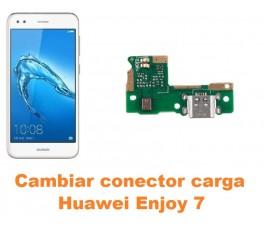 Cambiar conector carga Huawei Enjoy 7