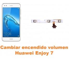 Cambiar encendido y volumen Huawei Enjoy 7