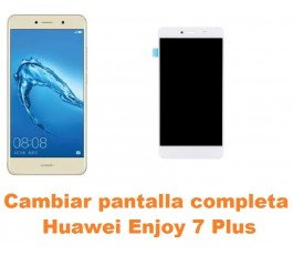 Cambiar pantalla completa Huawei Enjoy 7 Plus