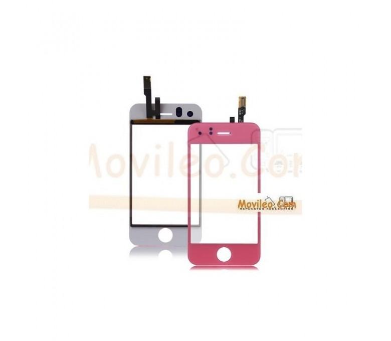 Pantalla táctil color rosa clarito para iPhone 3Gs - Imagen 1