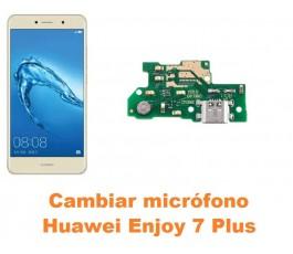 Cambiar micrófono Huawei Enjoy 7 Plus