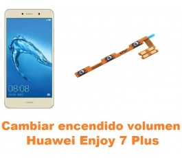 Cambiar encendido y volumen Huawei Enjoy 7 Plus