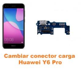 Cambiar conector carga Huawei Y6 Pro