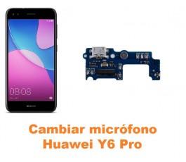 Cambiar micrófono Huawei Y6 Pro
