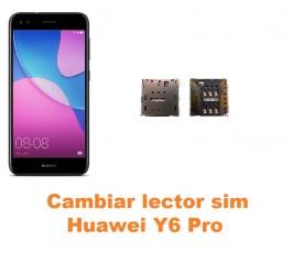 Cambiar lector sim Huawei Y6 Pro