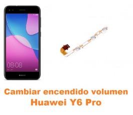 Cambiar encendido y volumen Huawei Y6 Pro