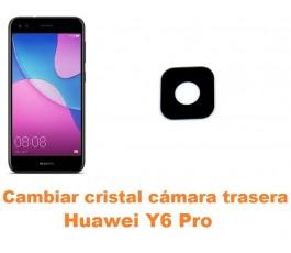 Cambiar cristal cámara trasera Huawei Y6 Pro