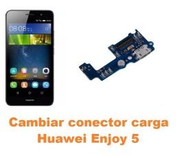 Cambiar conector carga Huawei Enjoy 5