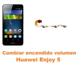 Cambiar encendido y volumen Huawei Enjoy 5