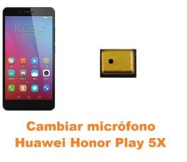 Cambiar micrófono Huawei Honor Play 5X