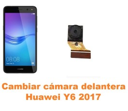 Cambiar cámara delantera Huawei Y6 2017