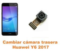 Cambiar cámara trasera Huawei Y6 2017