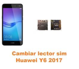 Cambiar lector sim Huawei Y6 2017