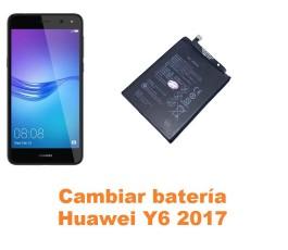 Cambiar batería Huawei Y6 2017