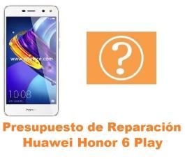 Presupuesto de reparación Huawei Honor 6 Play