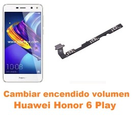 Cambiar encendido y volumen Huawei Honor 6 Play