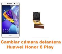 Cambiar cámara delantera Huawei Honor 6 Play