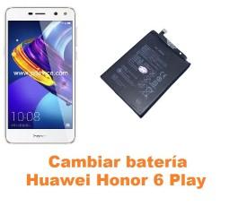 Cambiar batería Huawei Honor 6 Play