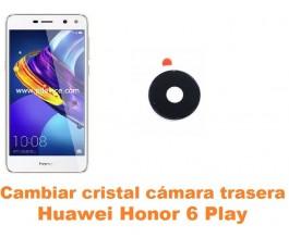 Cambiar cristal cámara trasera Huawei Honor 6 Play