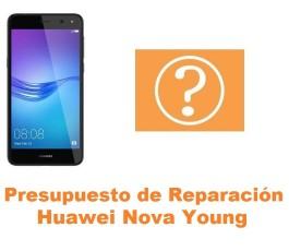 Presupuesto de reparación Huawei Nova Young