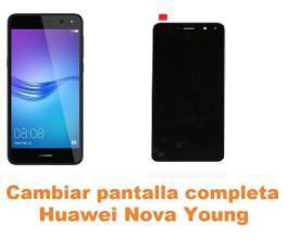 Cambiar pantalla completa Huawei Nova Young