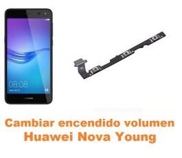 Cambiar encendido y volumen Huawei Nova Young