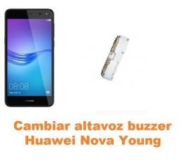 Cambiar altavoz buzzer Huawei Nova Young