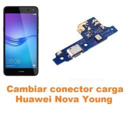 Cambiar conector carga Huawei Nova Young