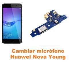 Cambiar micrófono Huawei Nova Young